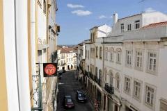 Evora inn - view over Rua da República