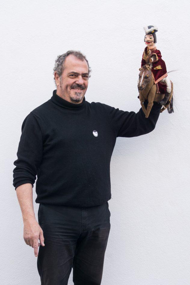 fau Fabio Augusto - 10 Novembro 2016. Polo de leitura da Biblioteca Publica de Evora, Evora: Retrato de Manuel Dias, Marionetistas